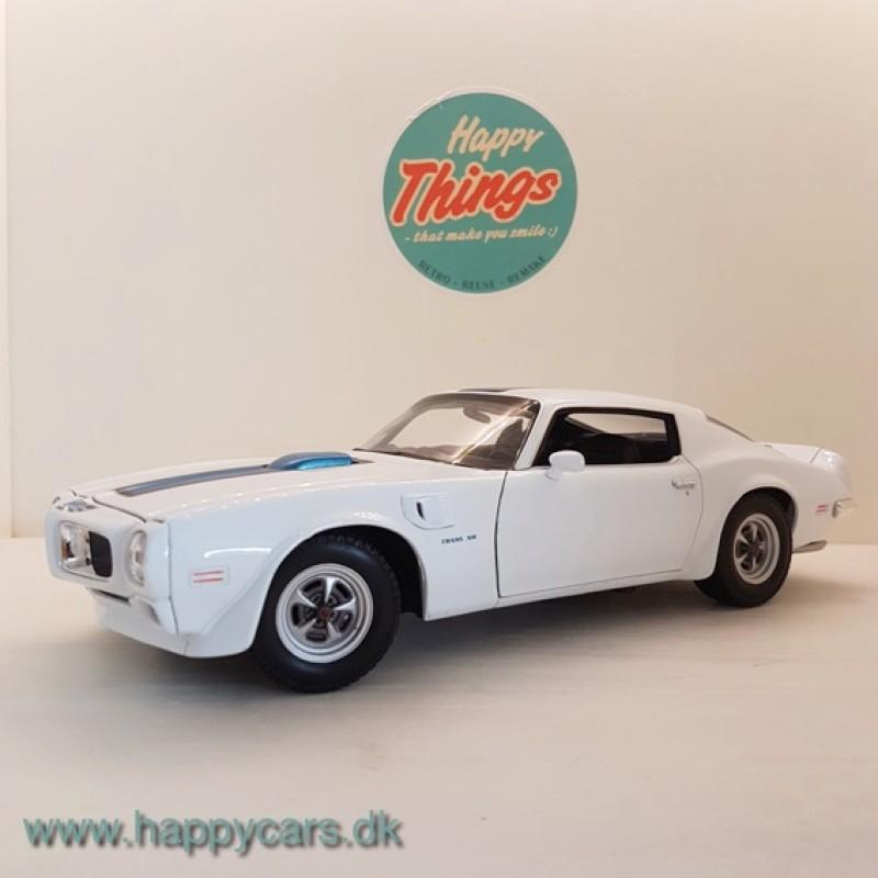 Pontiac Firebird Trans Am, hvid, Welly
