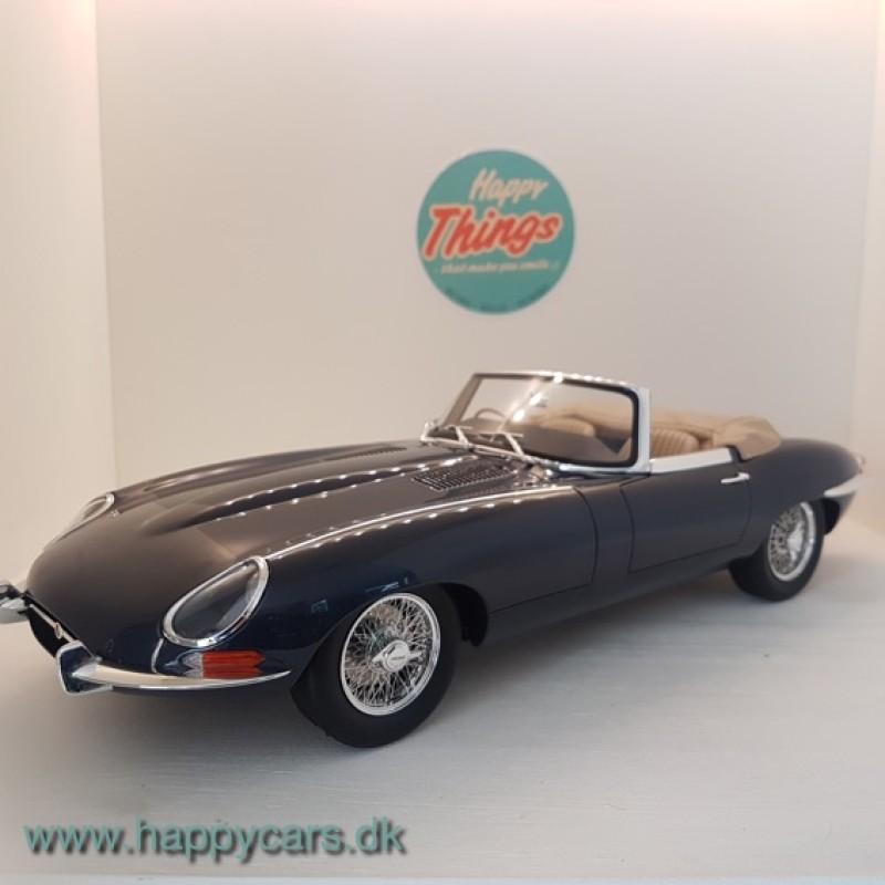 1:12 Jaguar E-Type Cabriolet, grøn, GT Spirit (limited 999 stk.)
