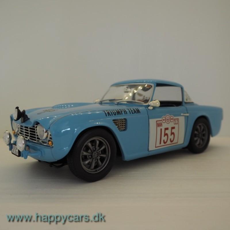 1:18 Triumph TR4 Rallye, lyseblå, Revell