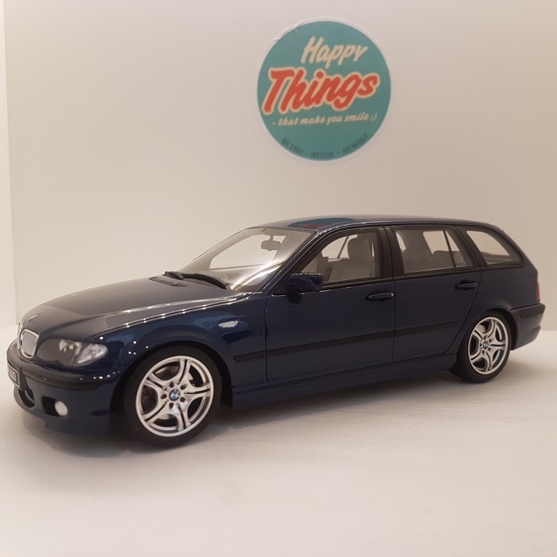 1:18 BMW 330i (E46) Touring M PackOttomobile 251, blåmetal, 1/2000