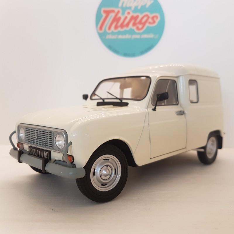 1:18 Renault 4L F4 Van, 1975, grå, Solido