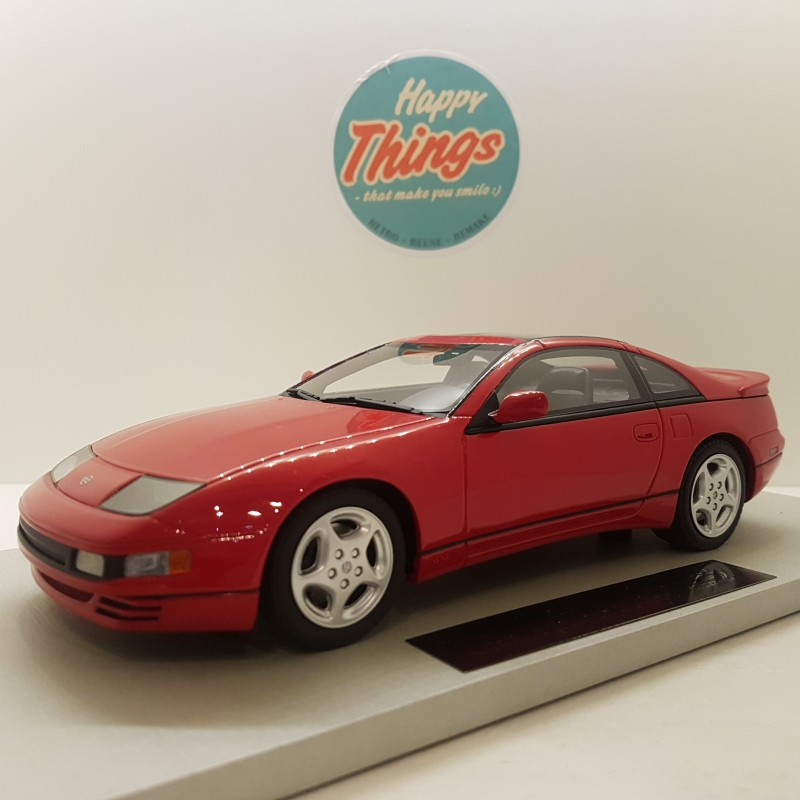 1:18 Nissan 300ZX, 1992, rød, LS-Collectibles, limited edition