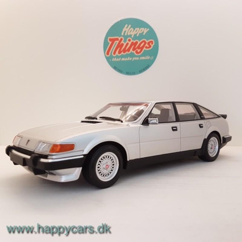 1:18 Rover Vitesse 3.5 V8 sølv Minichamps