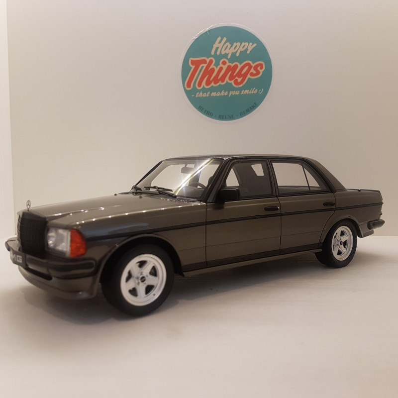 1:18 Mercedes-Benz 280 AMG W123, antracite gråmetal, Ottomobile, limited, 1:18
