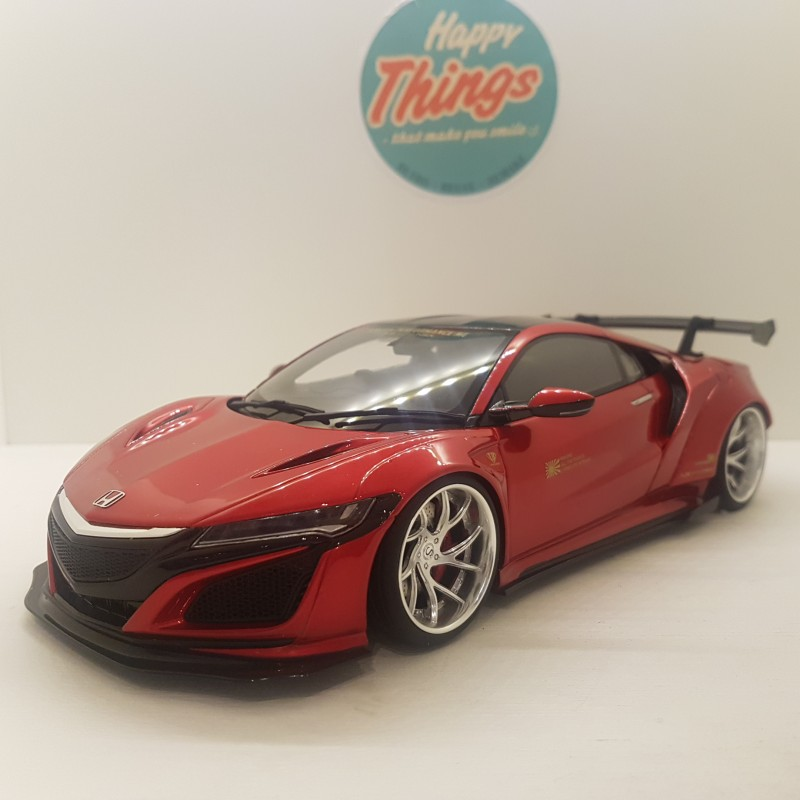 1:18 LB Works NSX TBC, rødmetal, GT Spirit, limited edition