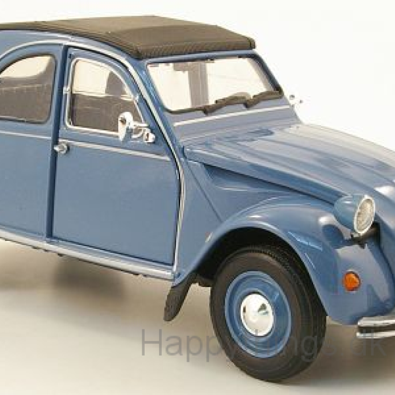 1:24 Citroën 2CV, blå, Welly
