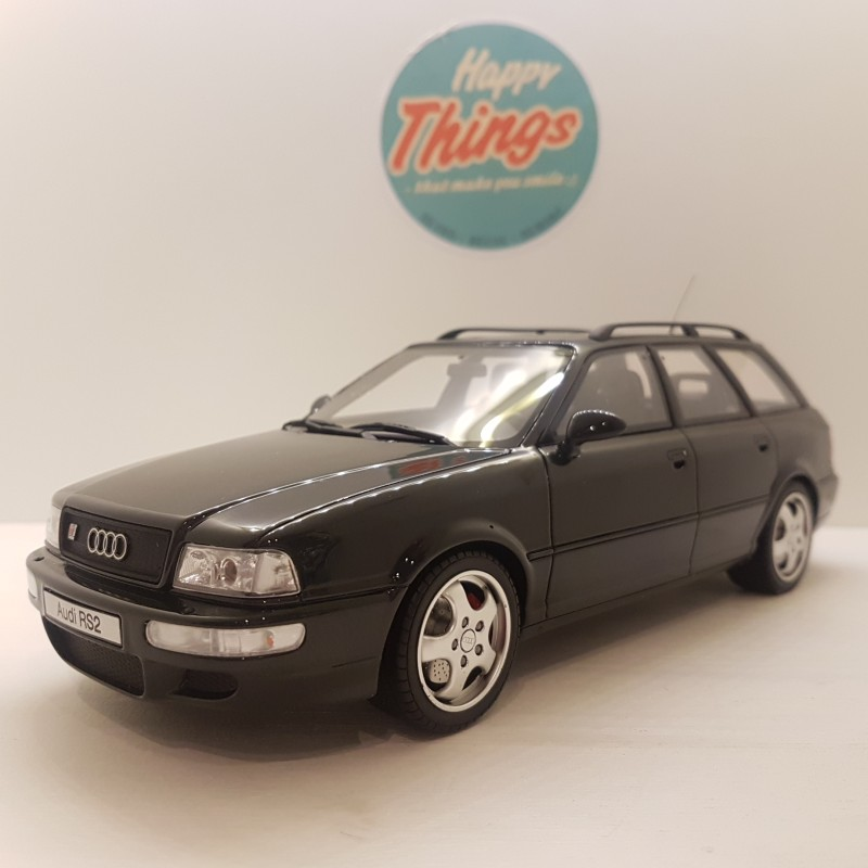 1:18 Audi RS2, sort, Ottomobile, limited
