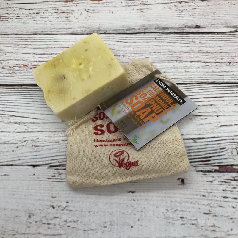 Calendula and Chamomile Castile soap
