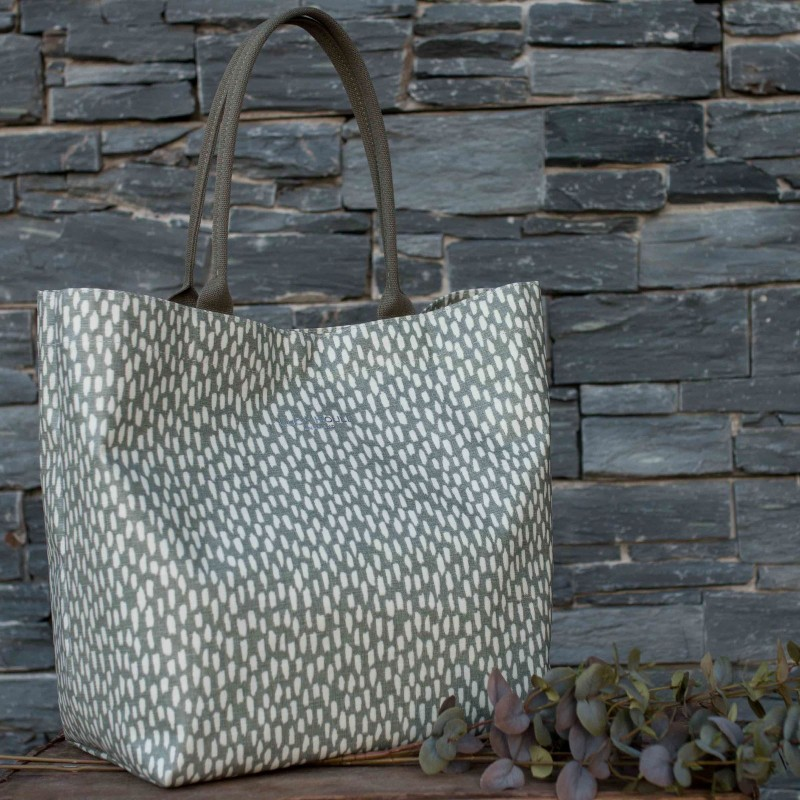 021f3fcbe3de Pewter Cobblestone Large Tote Bag