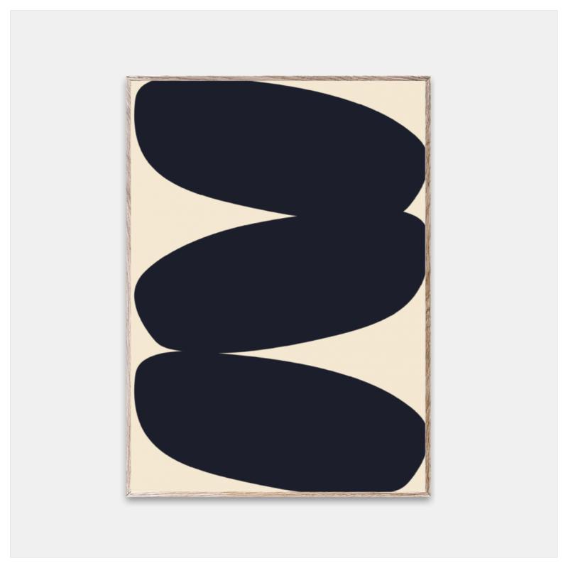 Poster, Solid Shapes 01, str 30x40 cm