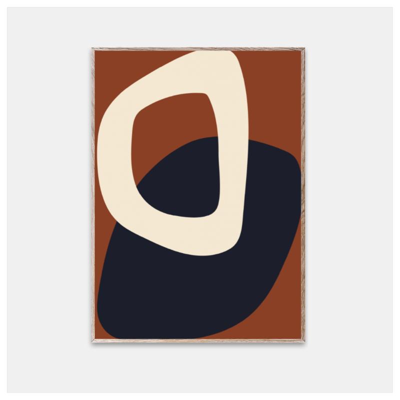 Poster, Solid Shapes 02, str 30x40 cm