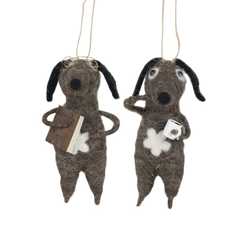 Ornament, dachs hund