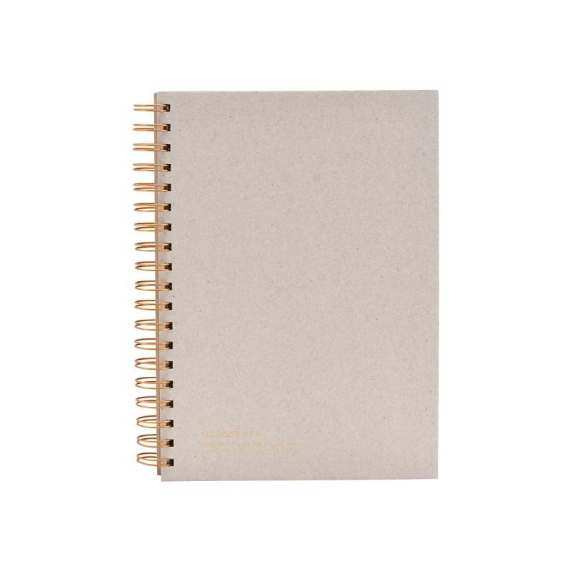 Notatbok, grå