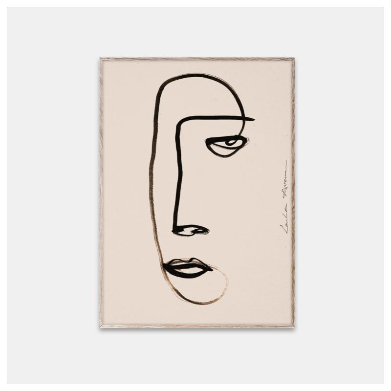 Poster, Serious Dreamer str 30x40 cm