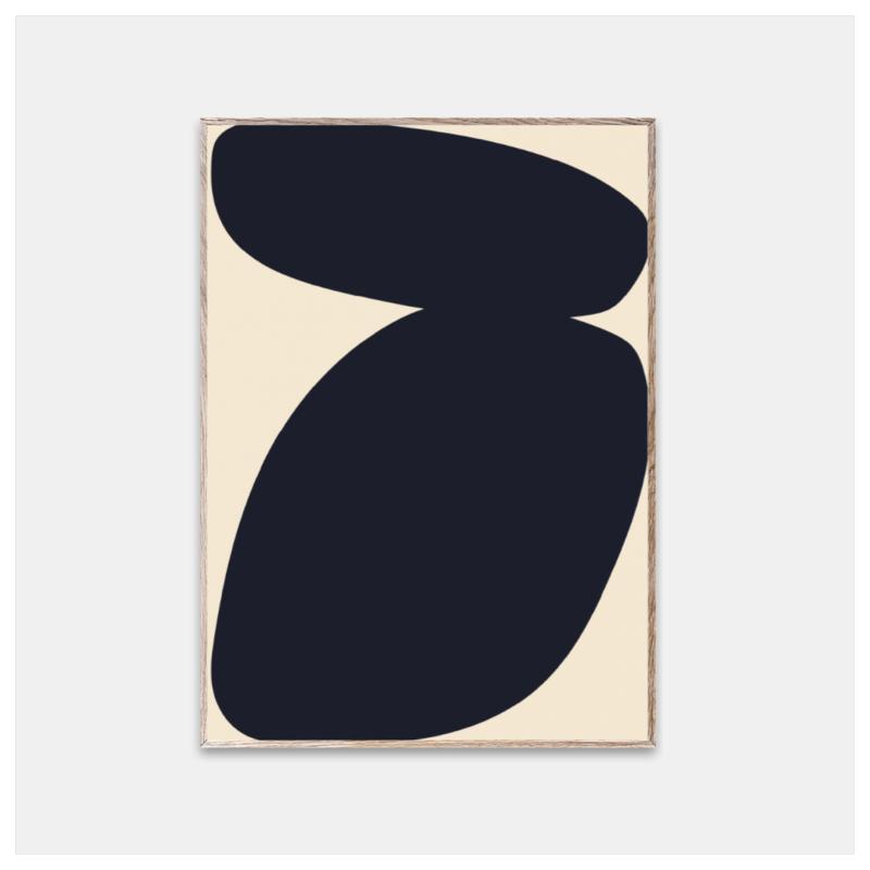 Poster, Solid Shapes 03 str 30x40 cm
