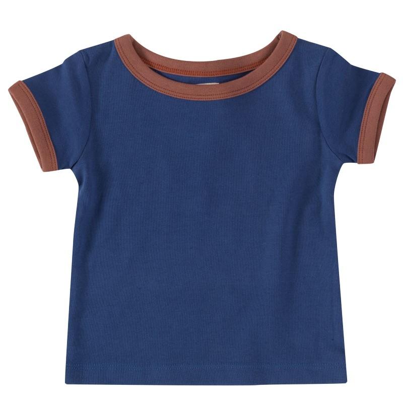 Pigeon retro t-shirt delft blue