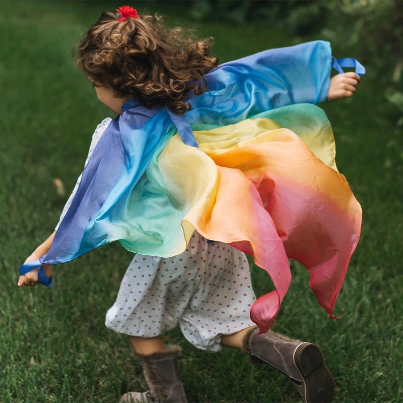 Sarahs silks - Silkevinger regnbue