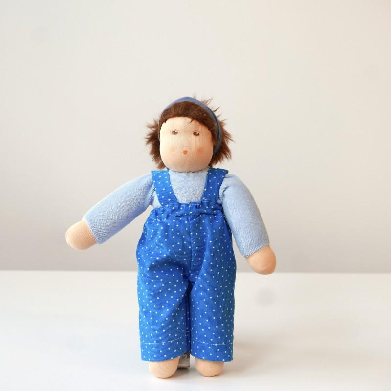 Nanchen - Dukke med blå bukser