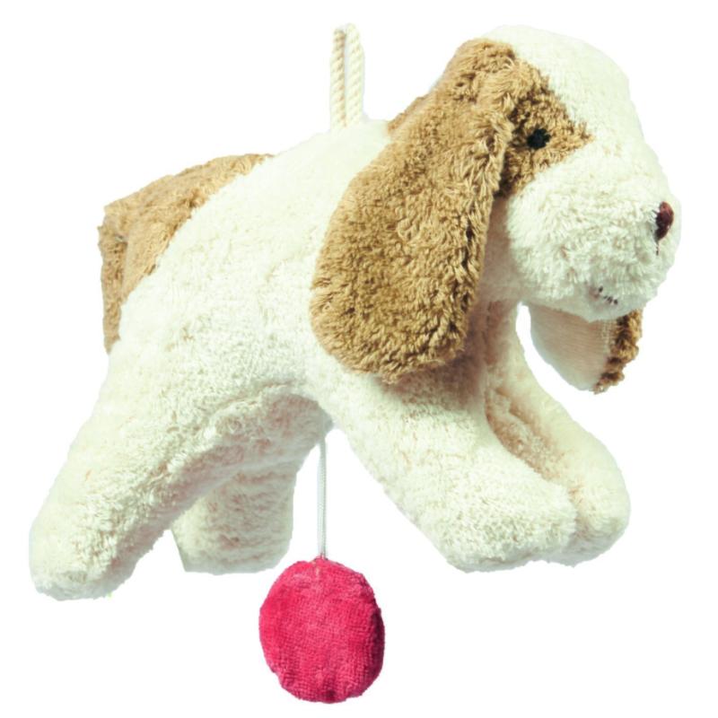 Senger - Hund opptrekkbar spilledåse