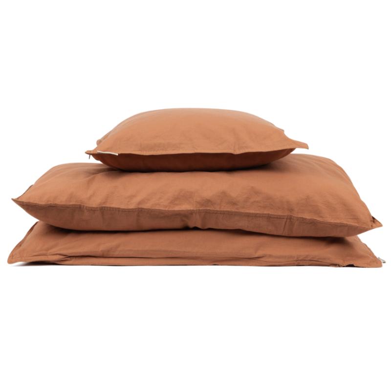 Voksen sengetøy Karamell