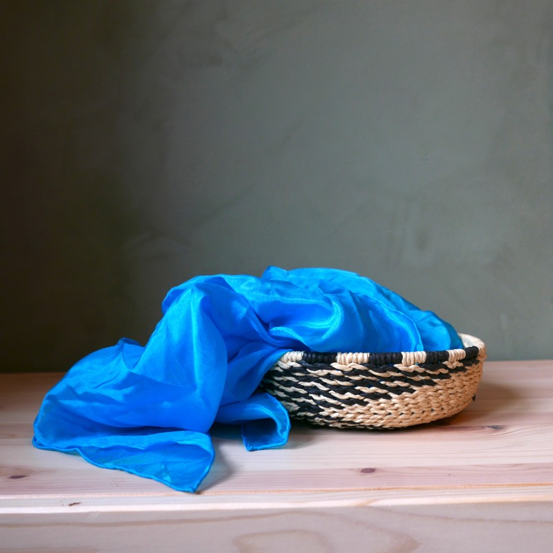 Sarahs silks - Turkis lekesilke 86cm