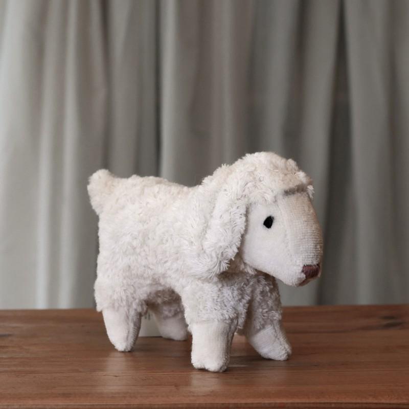 Lite lam i økologisk bomull og ull