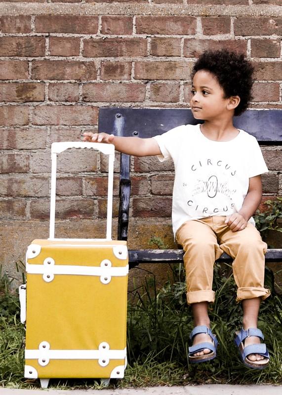 Olli Ella - See-ya koffert gul