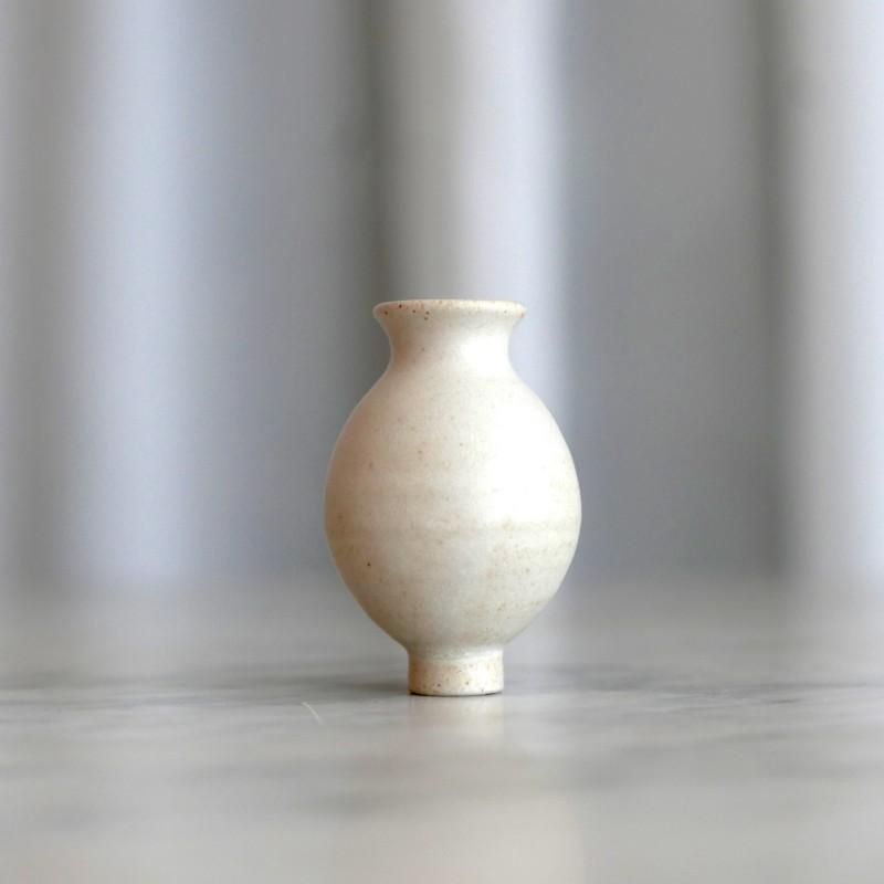 Grimms - Hvit vase til Bursdagsring