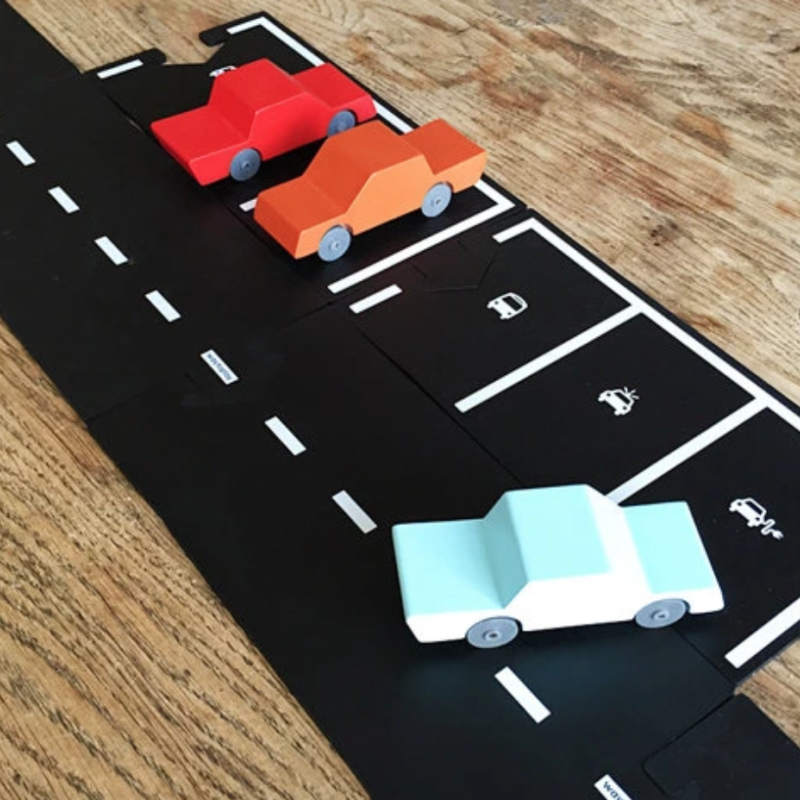 Way to play - Parkeringsplass ekstrasett