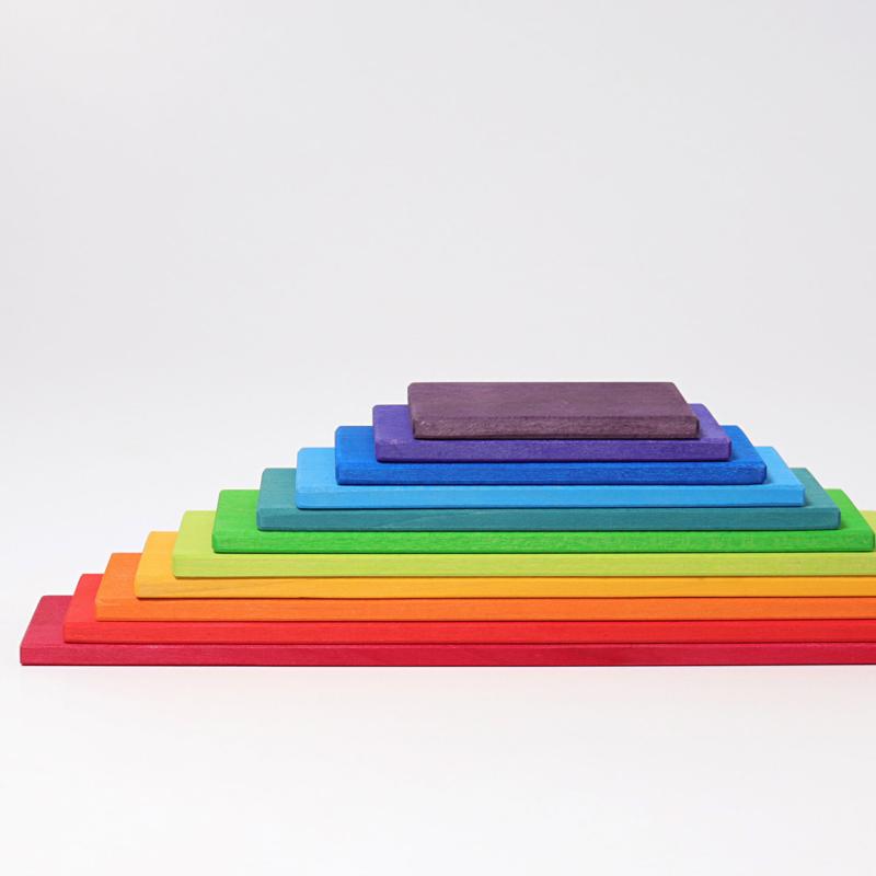 Grimms - Planker i Regbuefarger