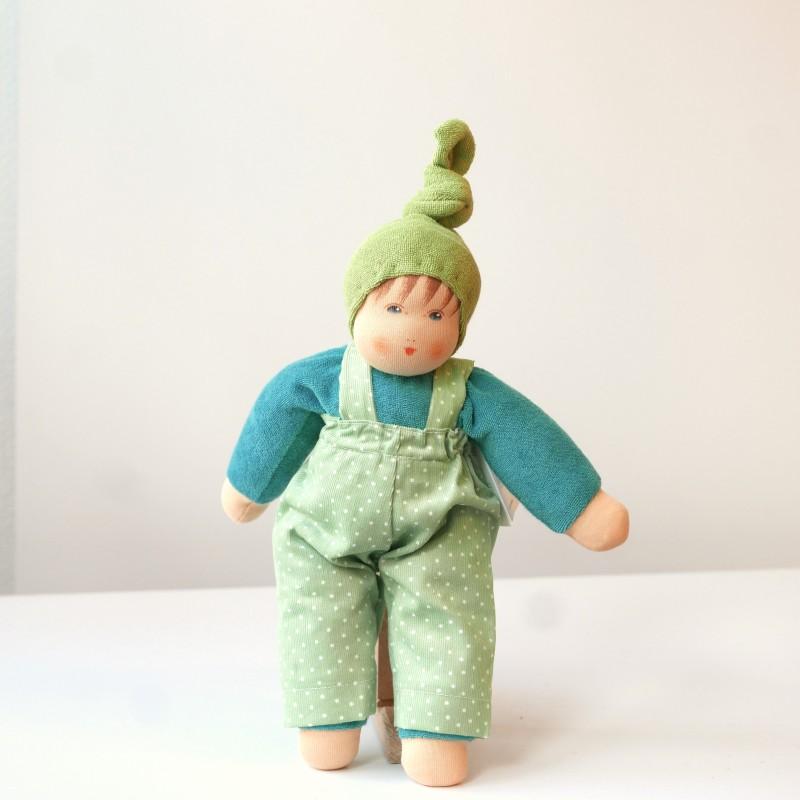 Nanchen - Dukke med grønn lue