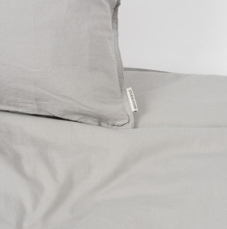 Junior sengetøy grå