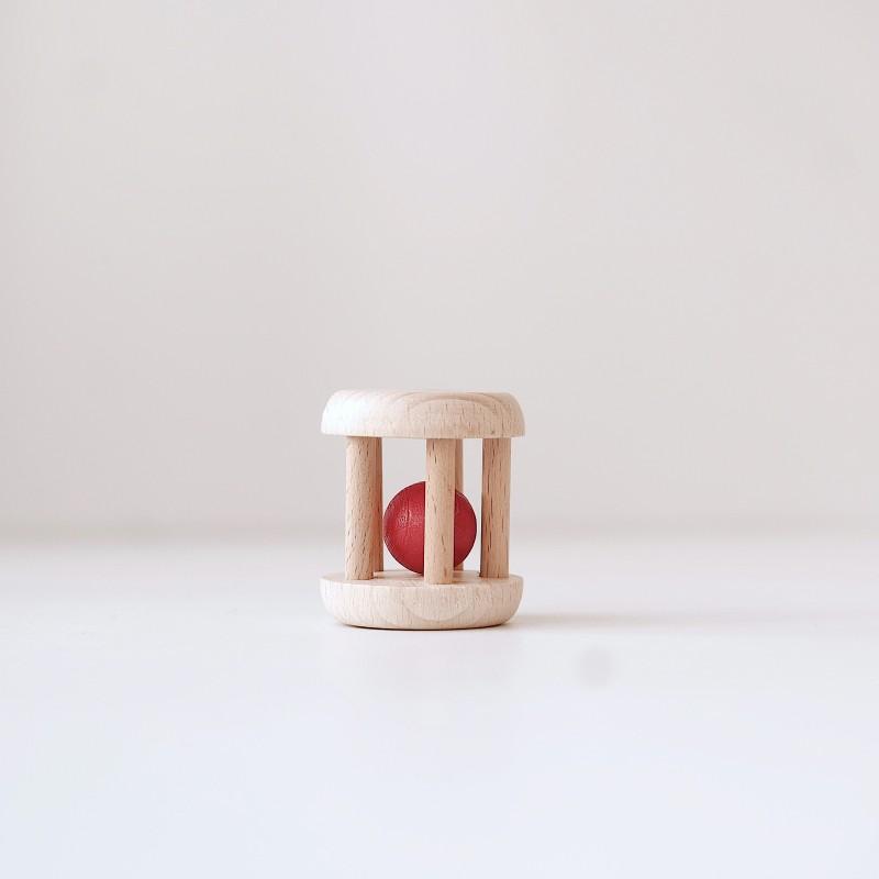 Glückskafer - Rullerangle med rød kule