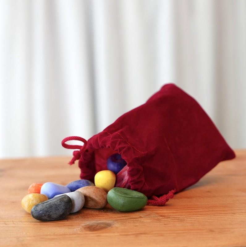 Crayon Rocks - 16 stk økologisk soya vokså