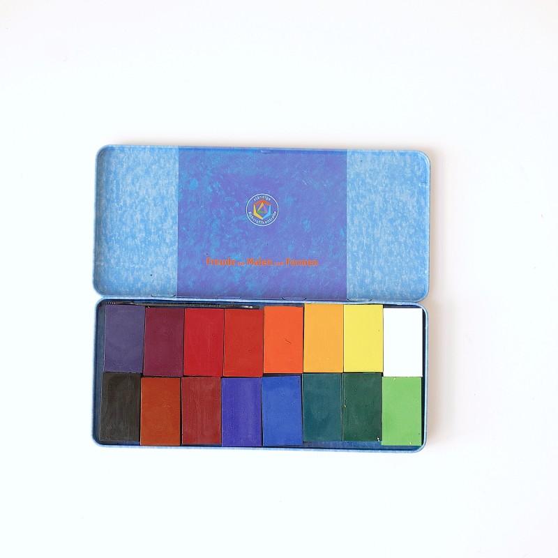 Stockmar - Fargeblokker 12stk ass. farger