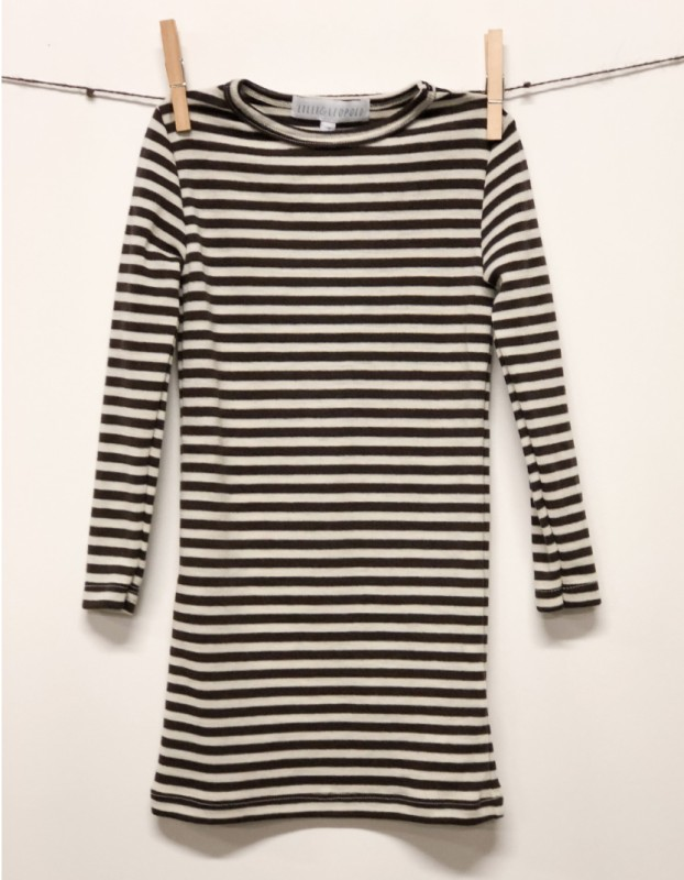 Stripet genser