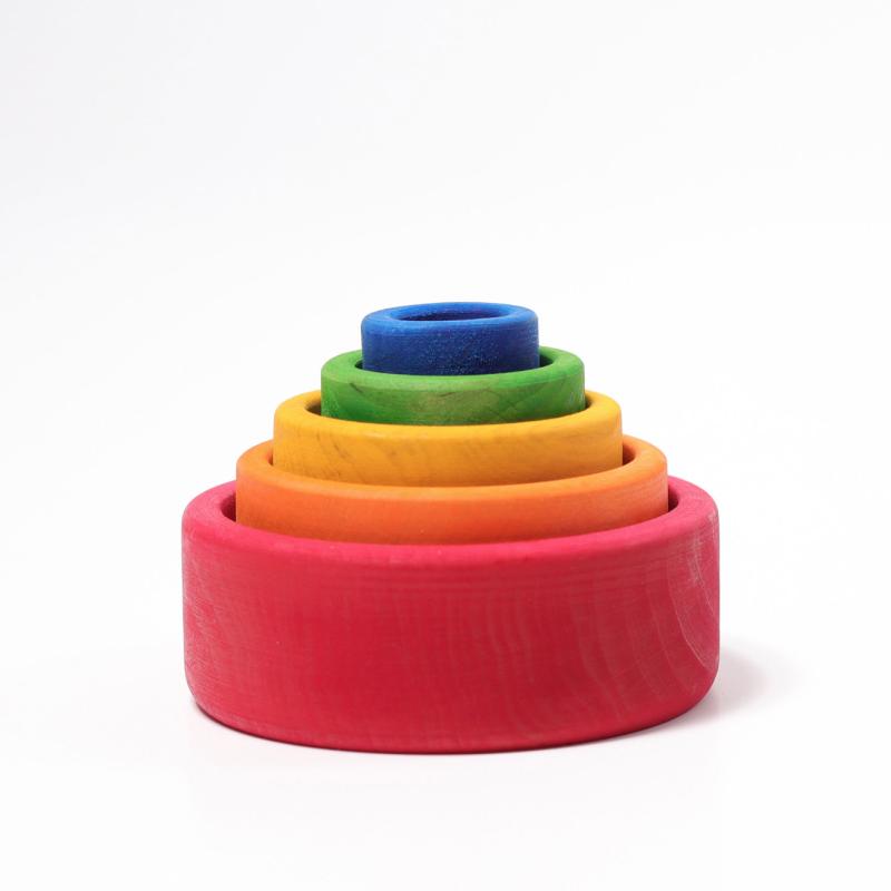 Grimms - Stableskåler regnbue