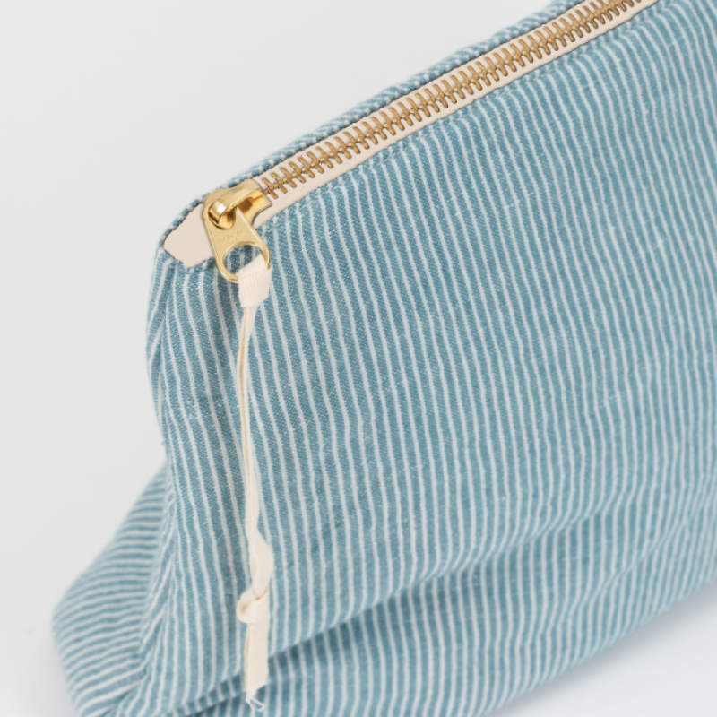 Studio Feder - Stelleveske - blå striper