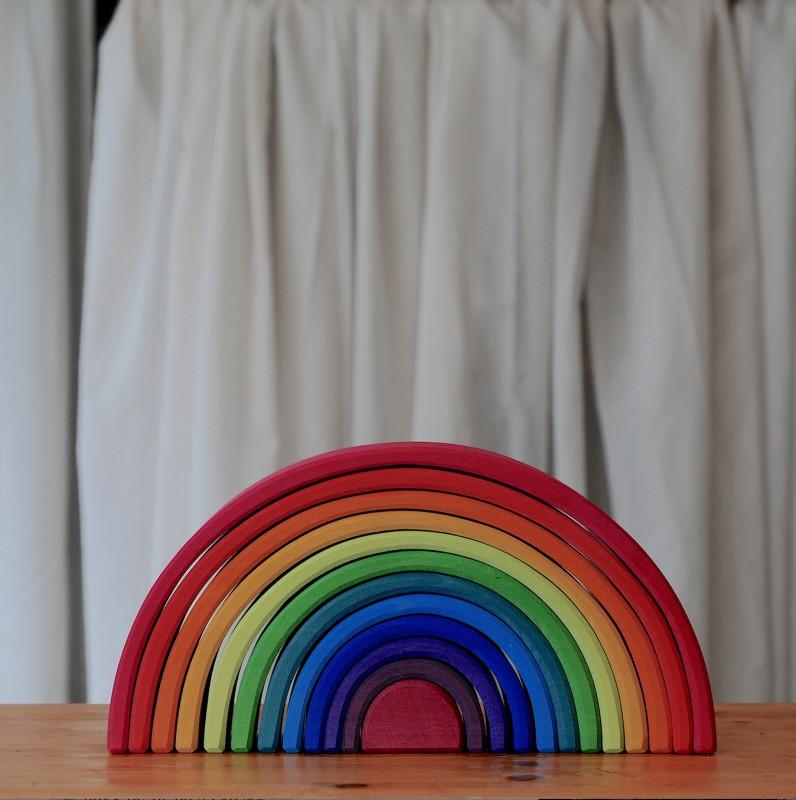 Stor regnbue
