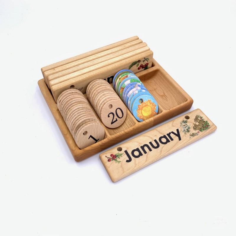 Treasures from Jennifer - Oppbevaringboks til kalendertilbehør