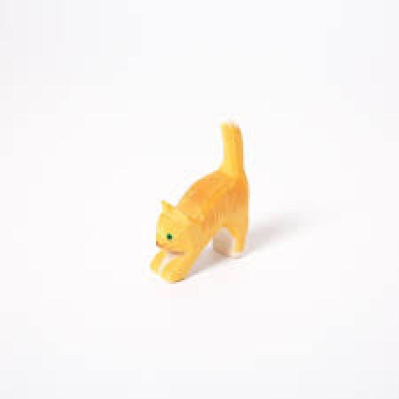 Katt Liten Oransje - Trefigur