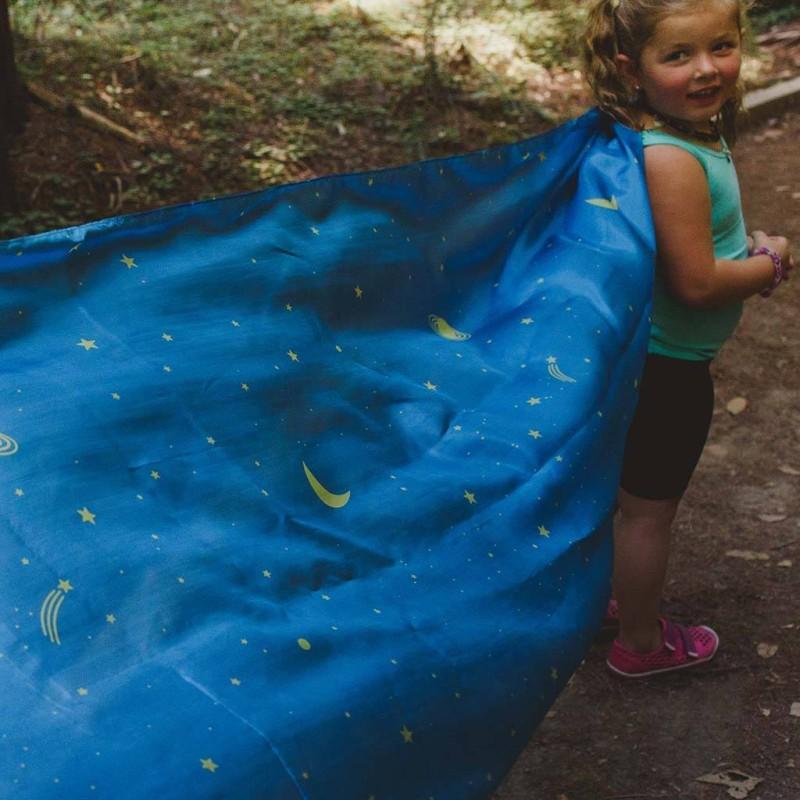 Sarahs silks - Stjernehimmel lekesilke 90x270cm