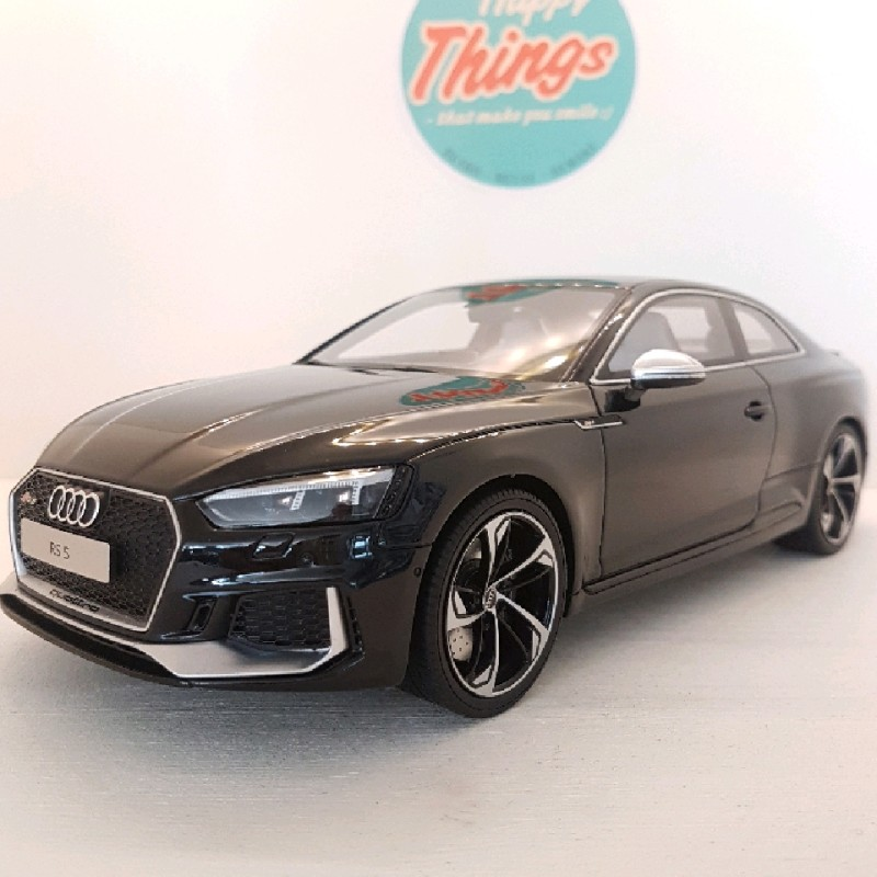 1:18 Audi RS5 Coupe, 2017, sort, GT Spirit, limited, 1:18
