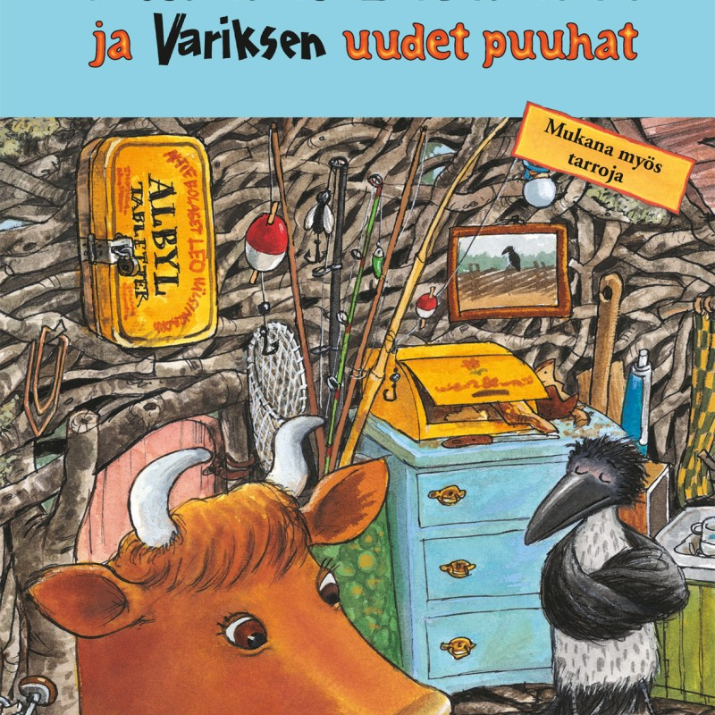 Mimmi Lehmän ja Variksen uudet puuhat - Jujja Wieslander, Sven Nordqvist