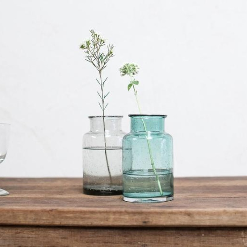 Toska Teal Small Vase