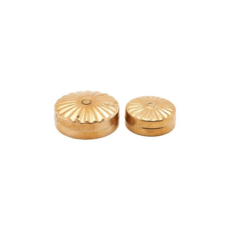 Meraki Storage Mini Brass Containers
