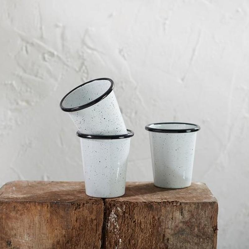 Abessa Cup - Black Splatter
