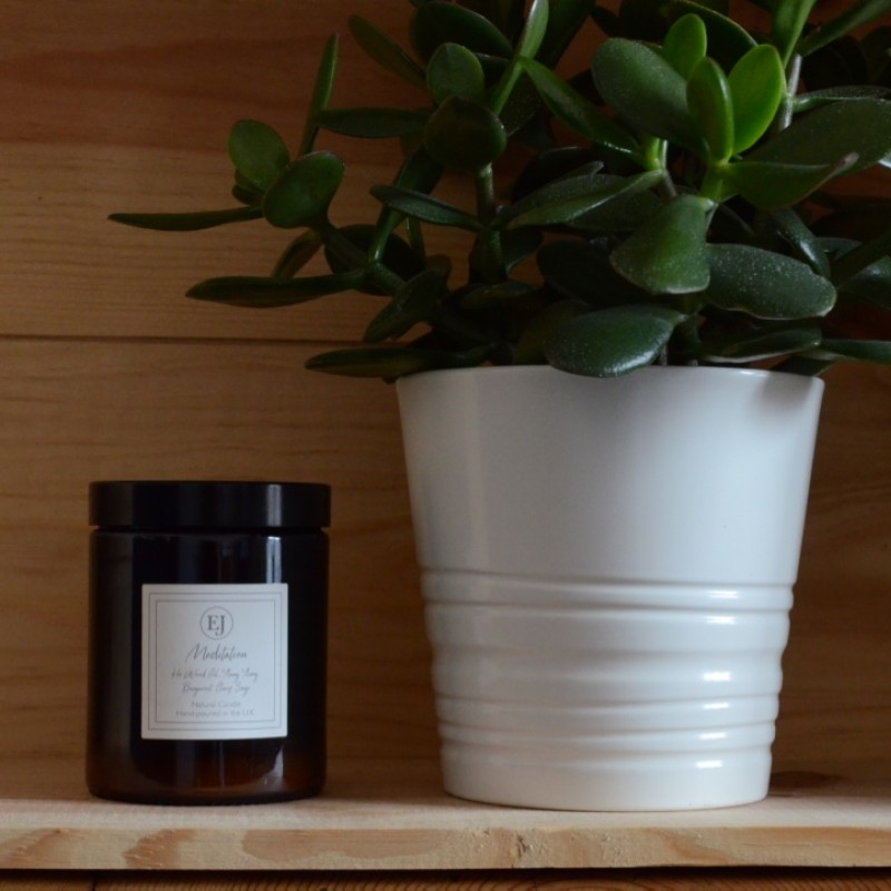 Elizabeth James Brown Pharmacy Pots Candles