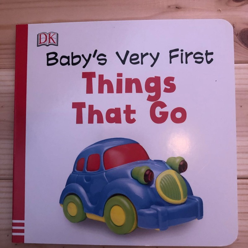 Baby's very first things that go