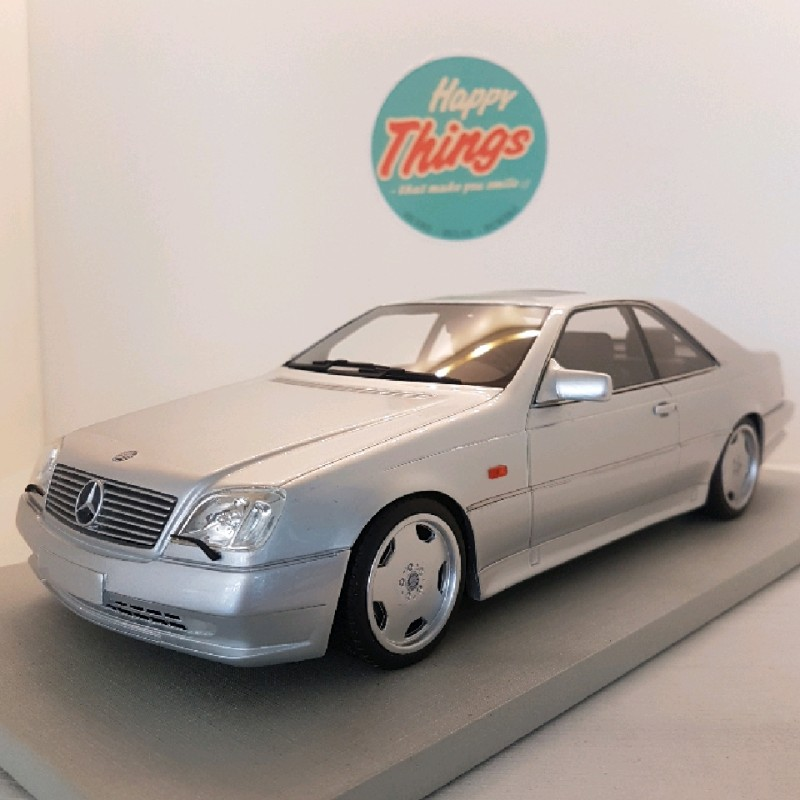 1:18 Mercedes-Benz CL600, sølv, LS Collectibles, limited, 1:18